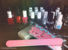 mani pedi supplies