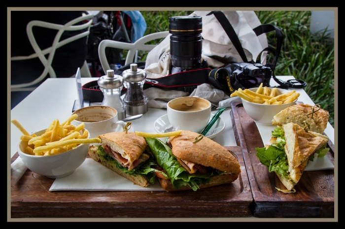 Lunch at GOMA South Brrisbane by John via Flickr